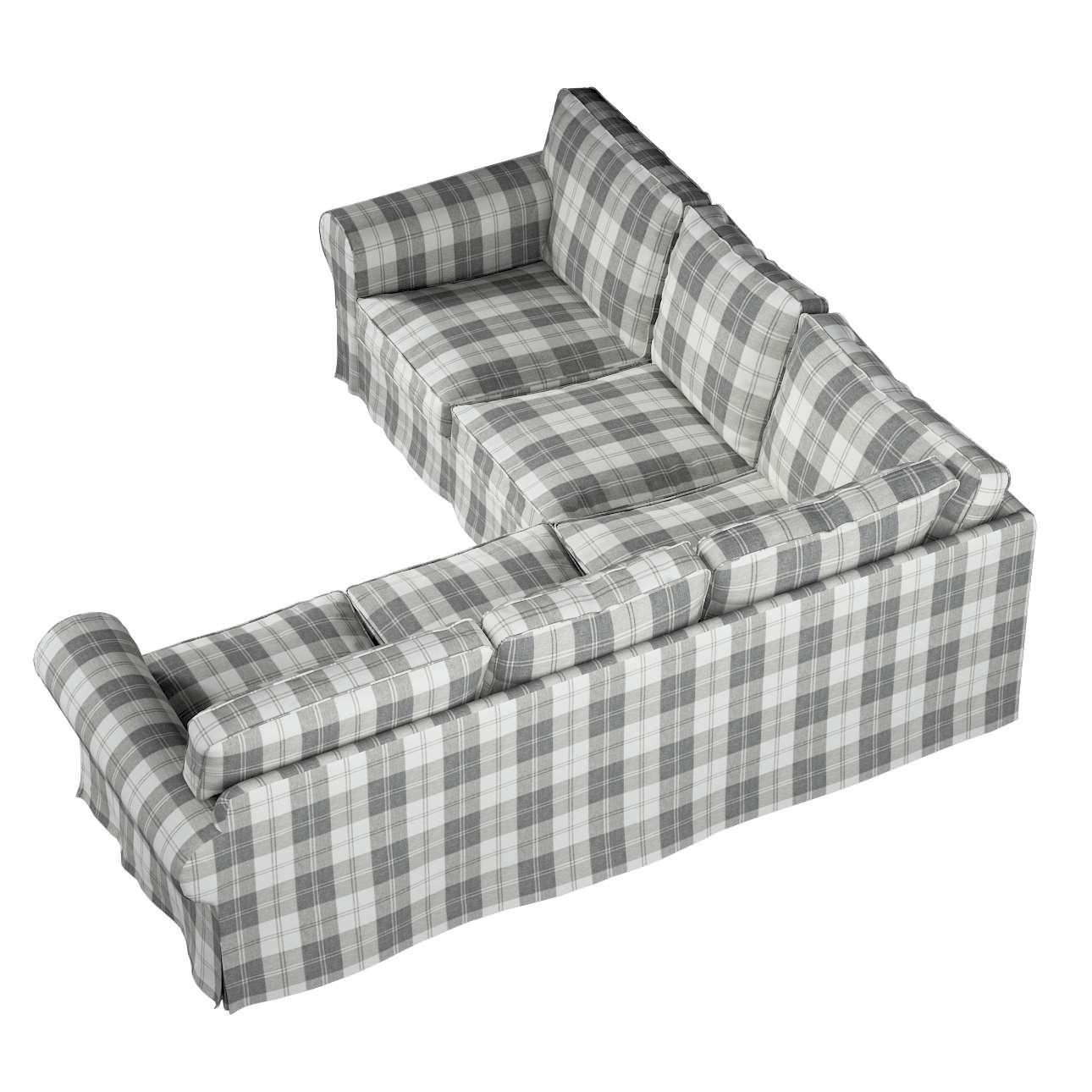 Pokrowiec Ektorp na sofę narożną w kolekcji Edinburgh, tkanina: 115-79