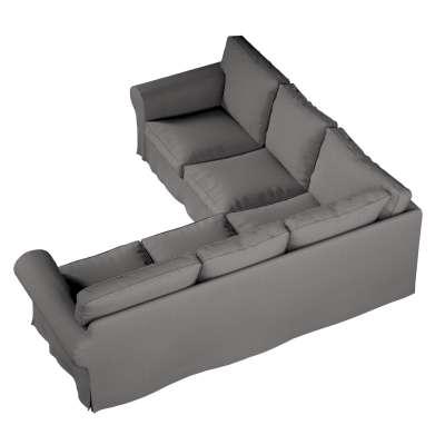 Pokrowiec Ektorp na sofę narożną w kolekcji Edinburgh, tkanina: 115-81