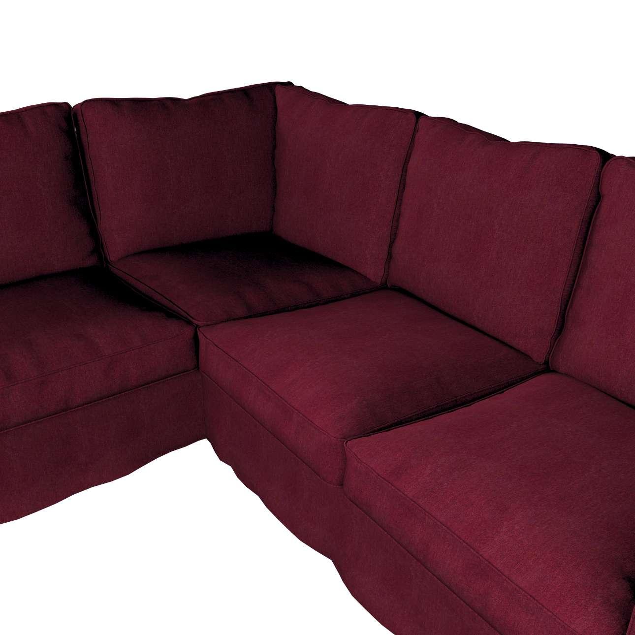 Pokrowiec na sofę narożną Ektorp w kolekcji Chenille, tkanina: 702-19