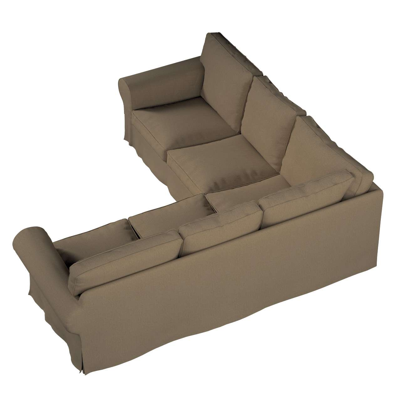Pokrowiec Ektorp na sofę w kolekcji Chenille, tkanina: 702-21