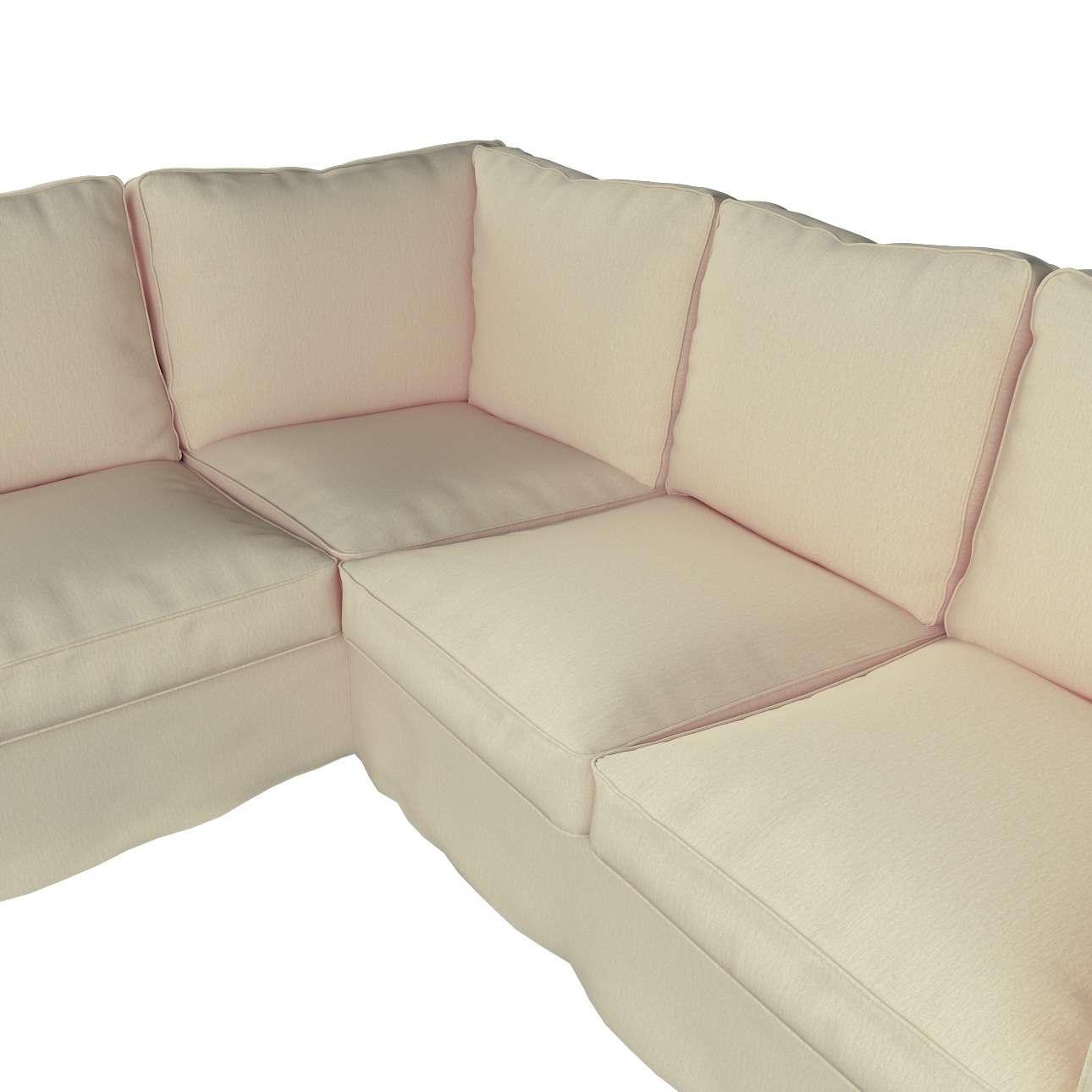Pokrowiec na sofę narożną Ektorp w kolekcji Chenille, tkanina: 702-22