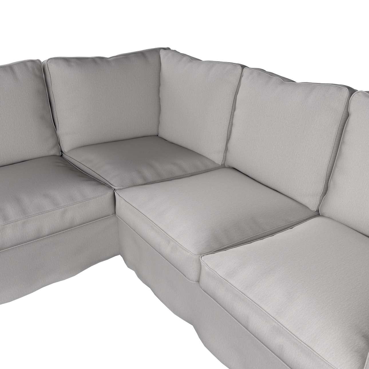 Pokrowiec na sofę narożną Ektorp w kolekcji Chenille, tkanina: 702-23