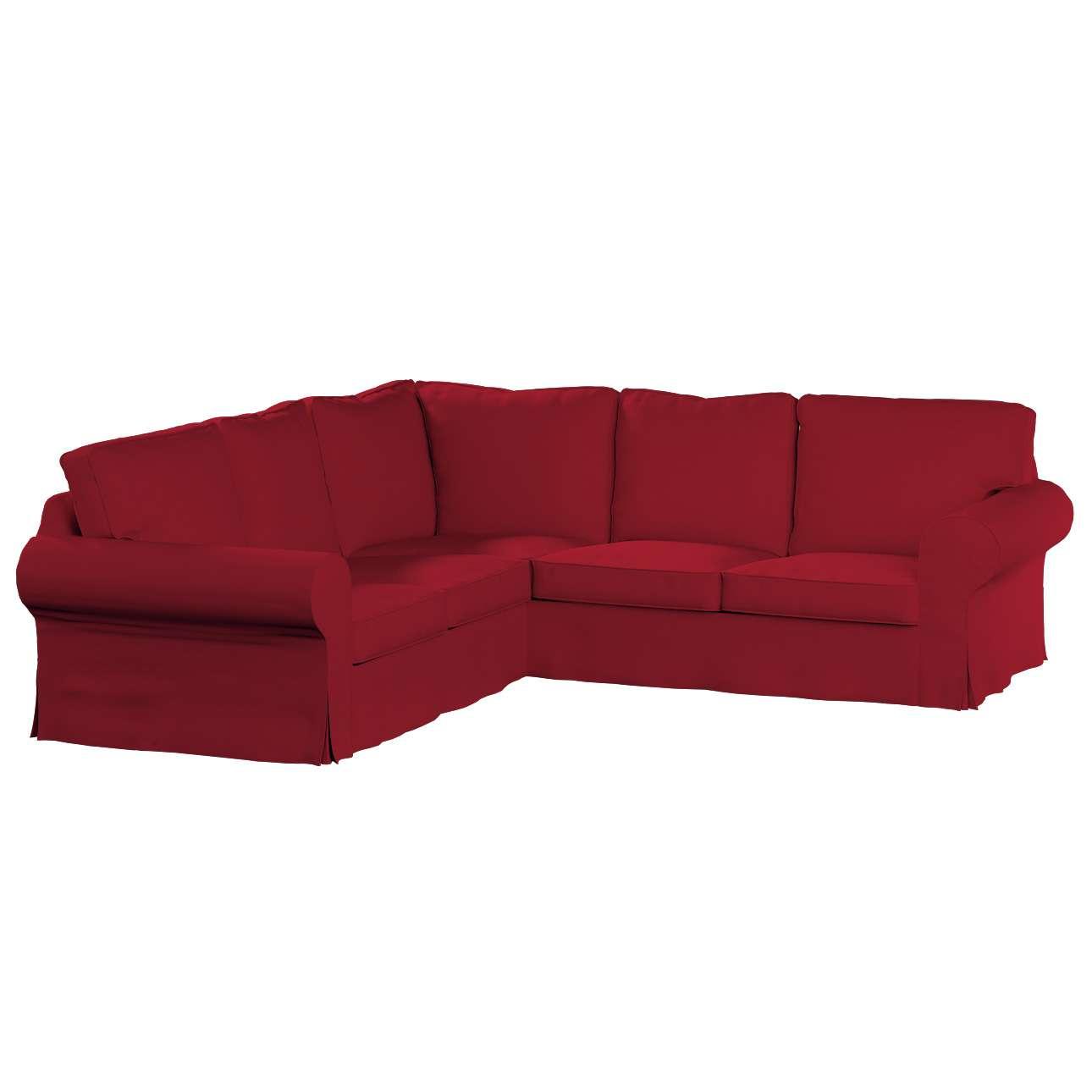 Pokrowiec na sofę narożną Ektorp w kolekcji Chenille, tkanina: 702-24