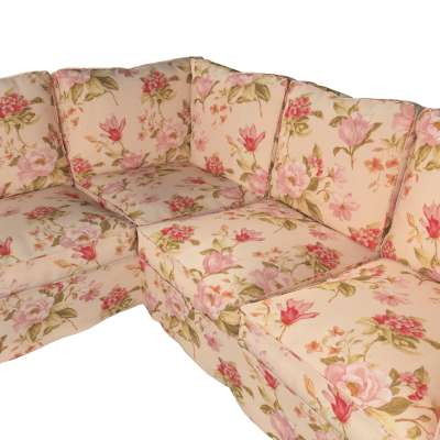 Pokrowiec na sofę narożną Ektorp w kolekcji Londres, tkanina: 123-05