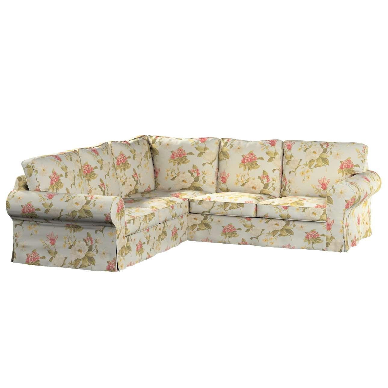 Pokrowiec na sofę narożną Ektorp w kolekcji Londres, tkanina: 123-65