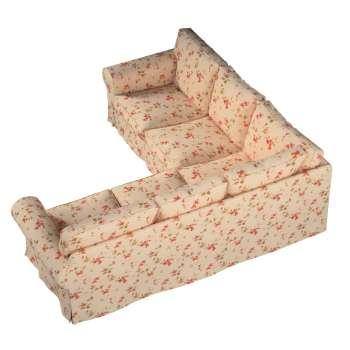 Pokrowiec Ektorp na sofę narożną w kolekcji Londres, tkanina: 124-05