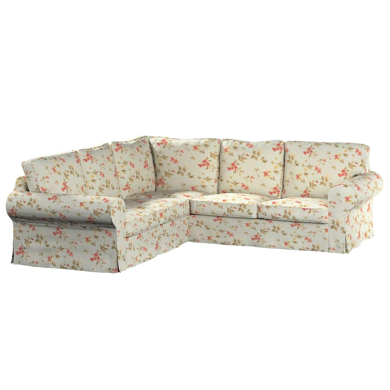 Pokrowiec na sofę narożną Ektorp w kolekcji Londres, tkanina: 124-65
