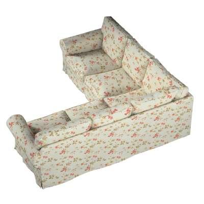 Pokrowiec Ektorp na sofę narożną w kolekcji Londres, tkanina: 124-65