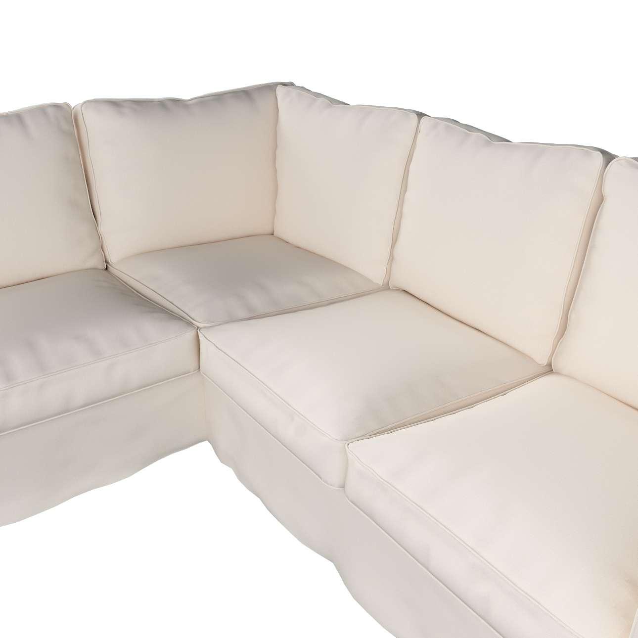 Pokrowiec Ektorp na sofę narożną w kolekcji Etna, tkanina: 705-01