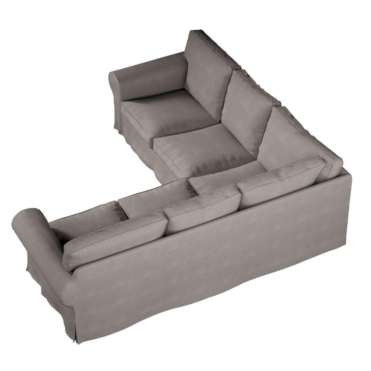 Pokrowiec Ektorp na sofę narożną w kolekcji Etna, tkanina: 705-09