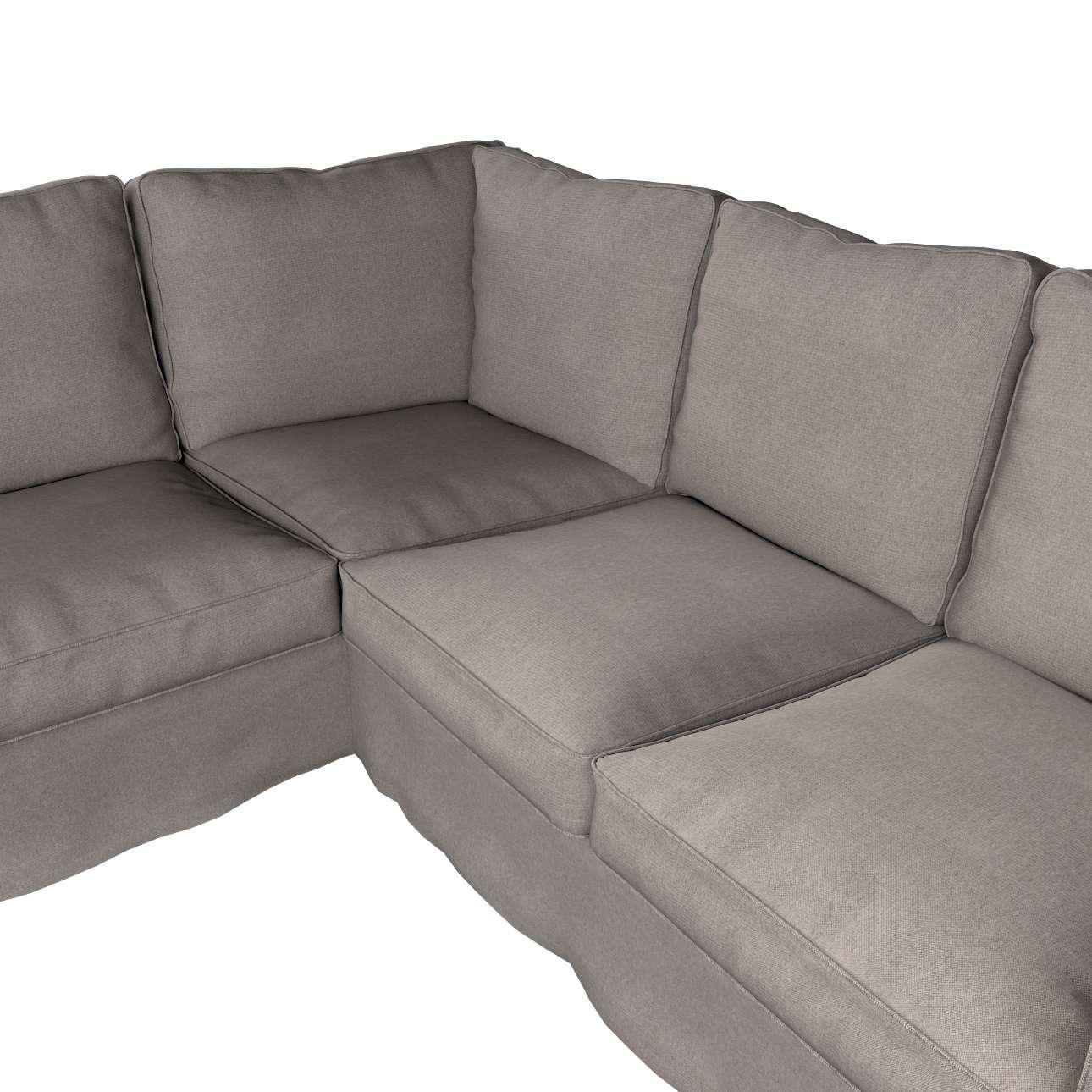 Pokrowiec na sofę narożną Ektorp w kolekcji Etna, tkanina: 705-09