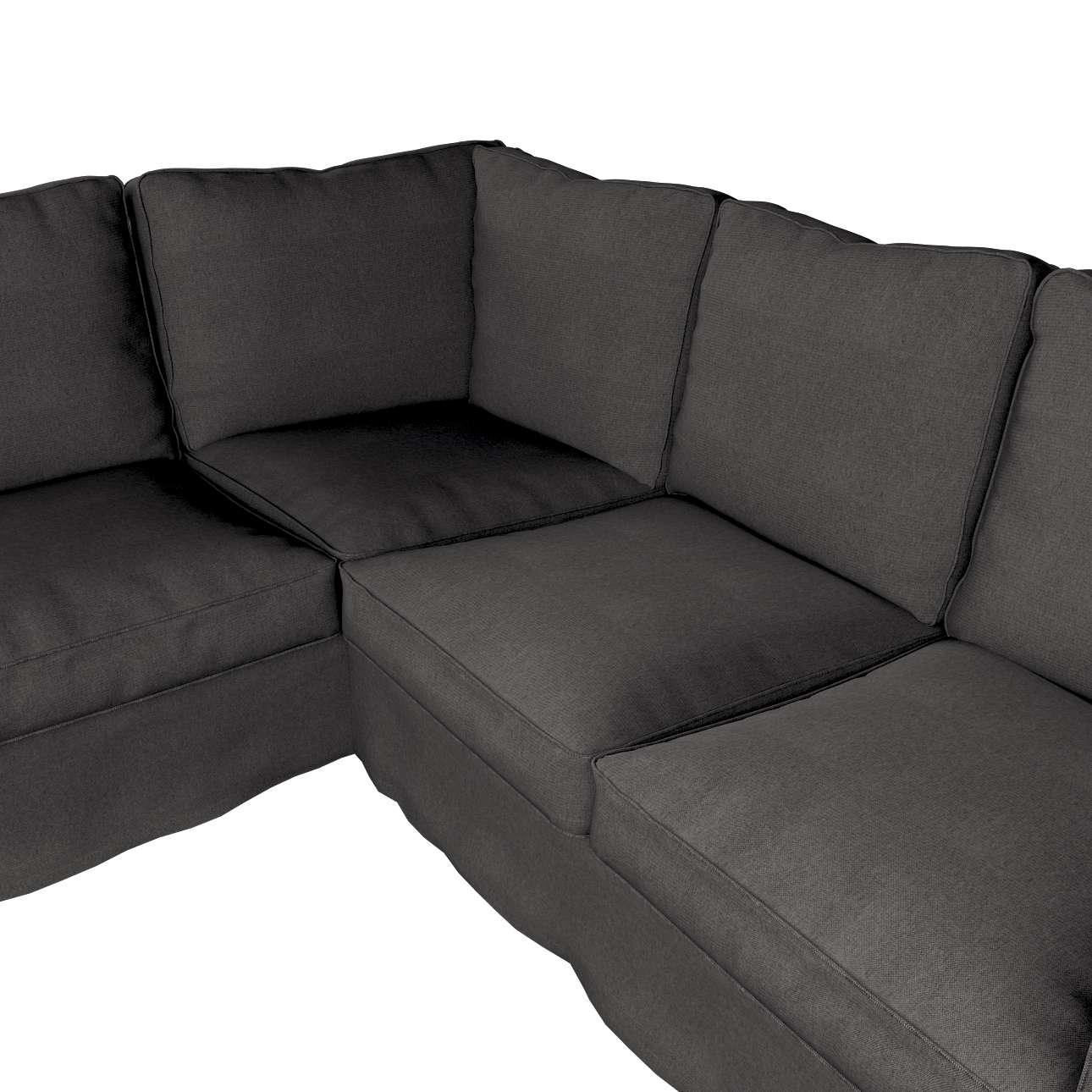 Pokrowiec Ektorp na sofę narożną w kolekcji Etna, tkanina: 705-35