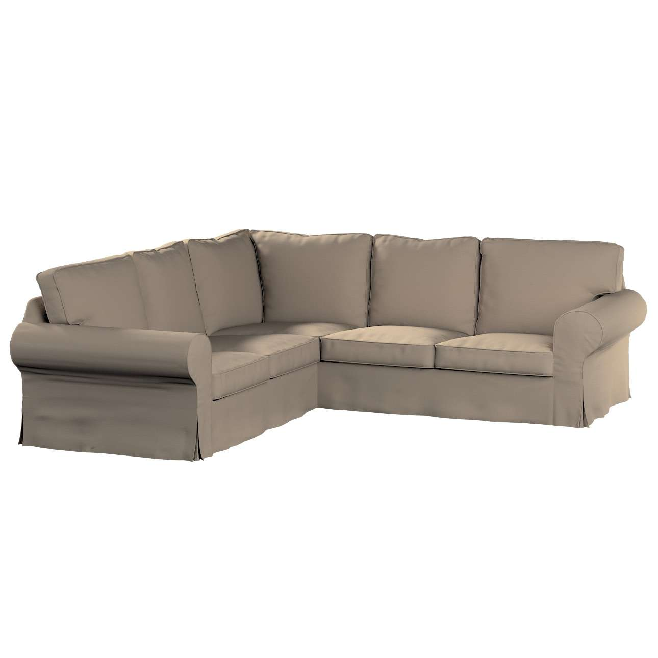 Ektorp kampinė sofa Ektorp kampinė sofa kolekcijoje Cotton Panama, audinys: 702-28