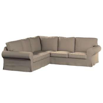 Pokrowiec na sofę Ektorp narożną Sofa Ektorp narożna w kolekcji Cotton Panama, tkanina: 702-28