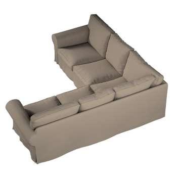 Pokrowiec Ektorp na sofę narożną w kolekcji Cotton Panama, tkanina: 702-28