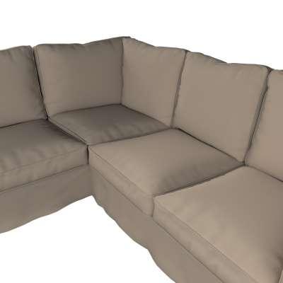Pokrowiec na sofę narożną Ektorp w kolekcji Cotton Panama, tkanina: 702-28