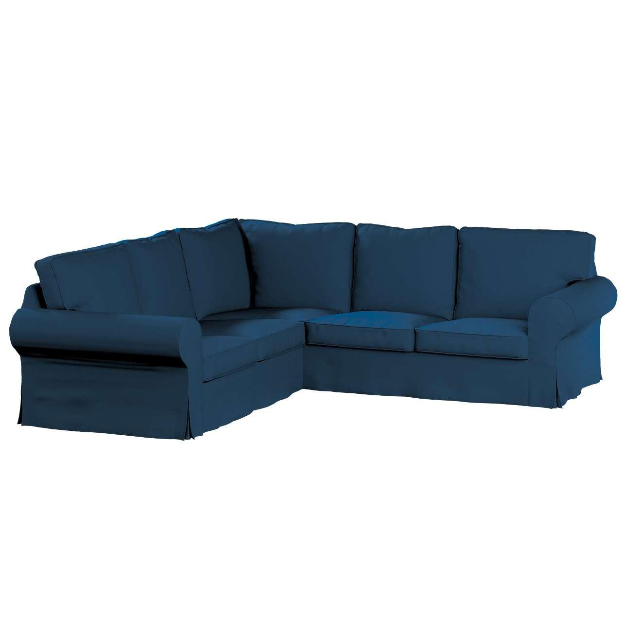 Pokrowiec Ektorp na sofę narożną w kolekcji Cotton Panama, tkanina: 702-30