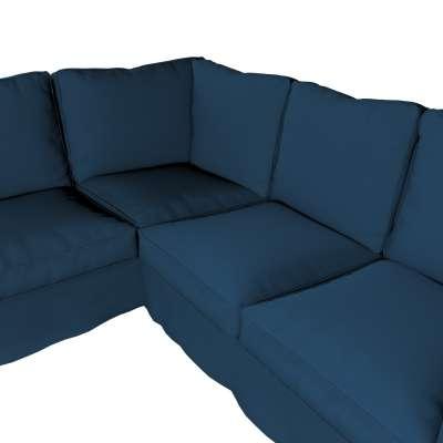 Pokrowiec na sofę narożną Ektorp w kolekcji Cotton Panama, tkanina: 702-30