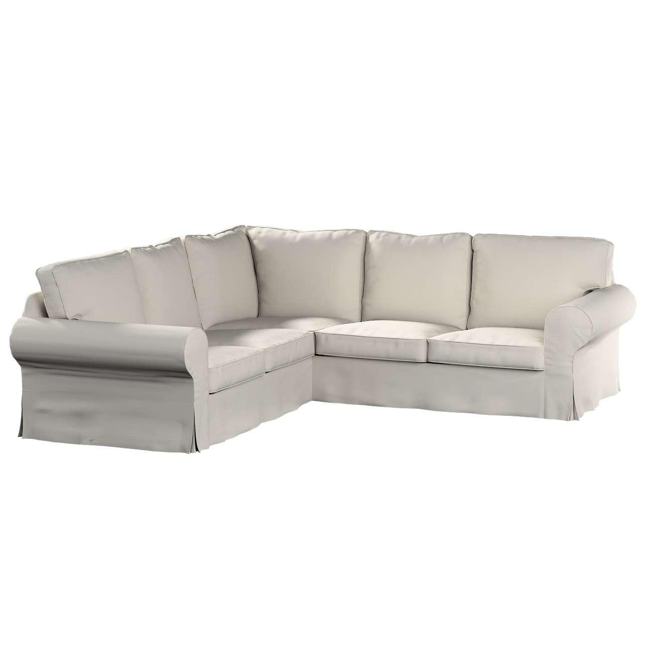 Pokrowiec na sofę Ektorp narożną Sofa Ektorp narożna w kolekcji Cotton Panama, tkanina: 702-31