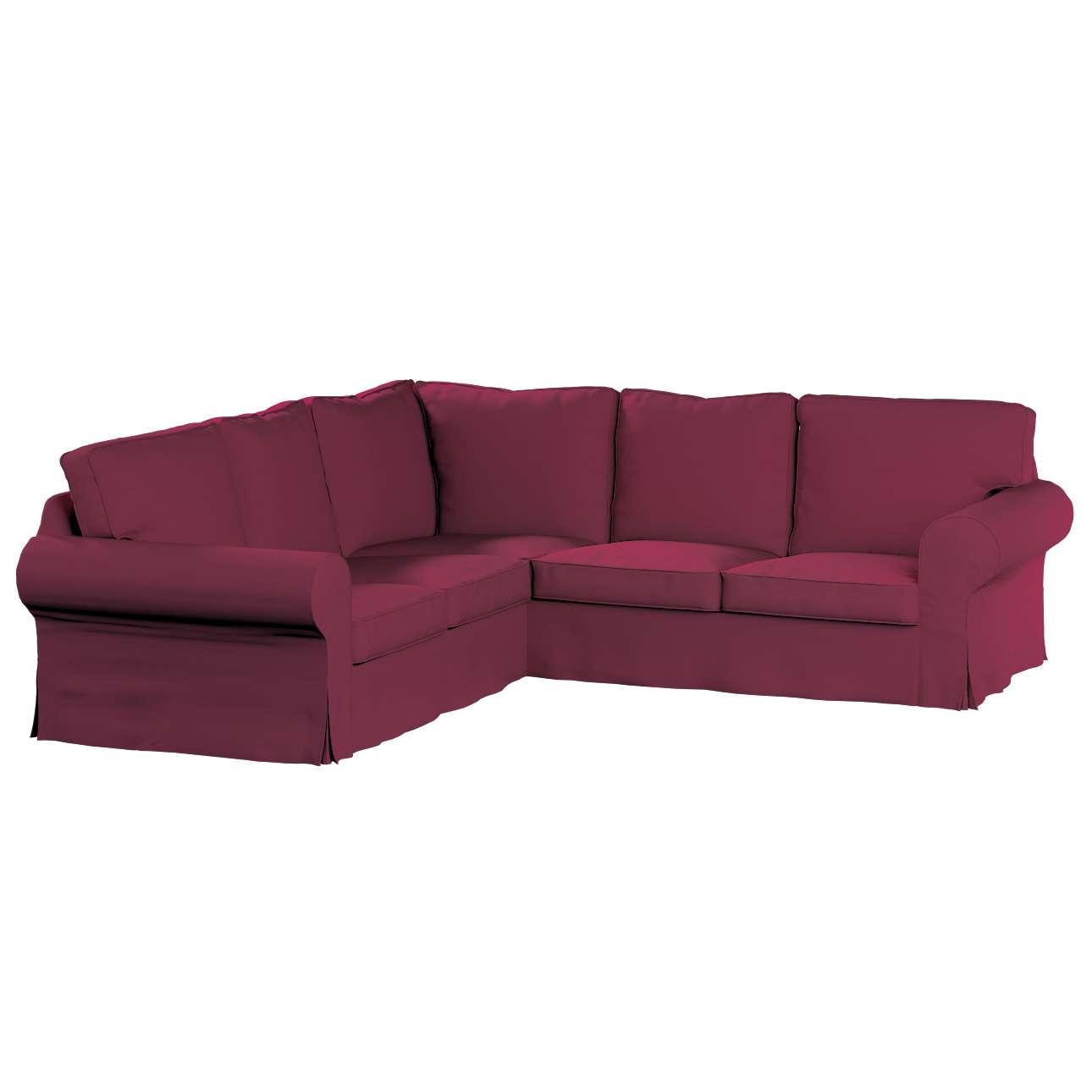 Pokrowiec na sofę Ektorp narożną Sofa Ektorp narożna w kolekcji Cotton Panama, tkanina: 702-32