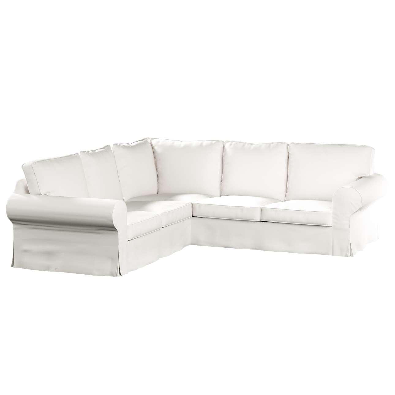 Pokrowiec na sofę Ektorp narożną Sofa Ektorp narożna w kolekcji Cotton Panama, tkanina: 702-34
