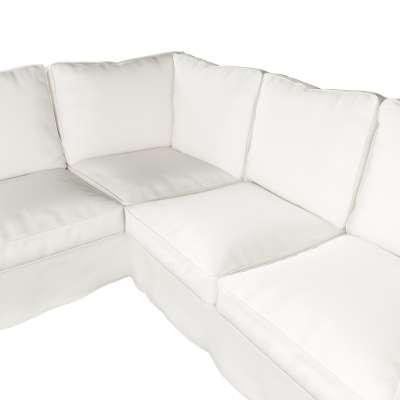 Pokrowiec Ektorp na sofę narożną w kolekcji Cotton Panama, tkanina: 702-34