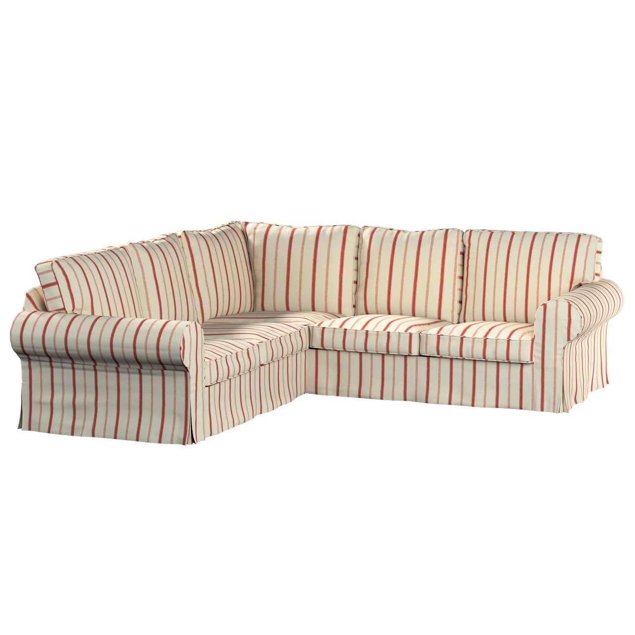 Pokrowiec na sofę narożną Ektorp w kolekcji Avinon, tkanina: 129-15
