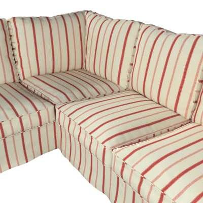Pokrowiec Ektorp na sofę narożną w kolekcji Avinon, tkanina: 129-15