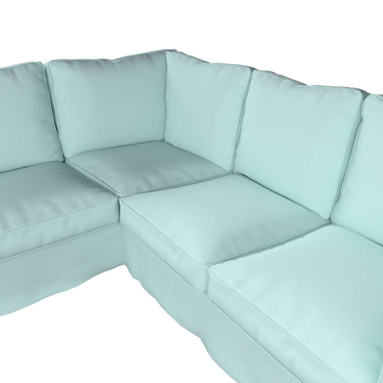 Pokrowiec Ektorp na sofę w kolekcji Cotton Panama, tkanina: 702-10