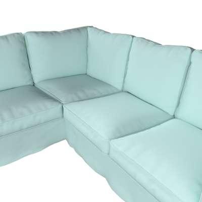 Pokrowiec na sofę narożną Ektorp w kolekcji Cotton Panama, tkanina: 702-10