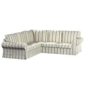 Pokrowiec na sofę Ektorp narożną Sofa Ektorp narożna w kolekcji Avinon, tkanina: 129-66