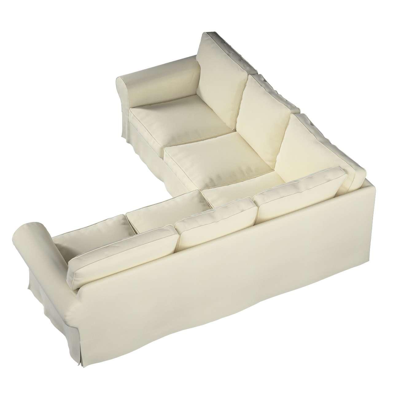 Pokrowiec na sofę narożną Ektorp w kolekcji Velvet, tkanina: 704-10