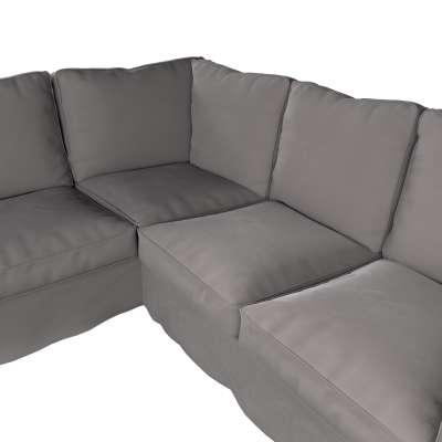Pokrowiec Ektorp na sofę narożną w kolekcji Velvet, tkanina: 704-11