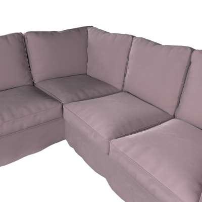 Pokrowiec Ektorp na sofę narożną w kolekcji Velvet, tkanina: 704-14