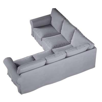 Pokrowiec na sofę narożną Ektorp w kolekcji Velvet, tkanina: 704-24