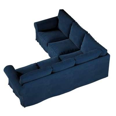 Pokrowiec Ektorp na sofę narożną w kolekcji Velvet, tkanina: 704-29