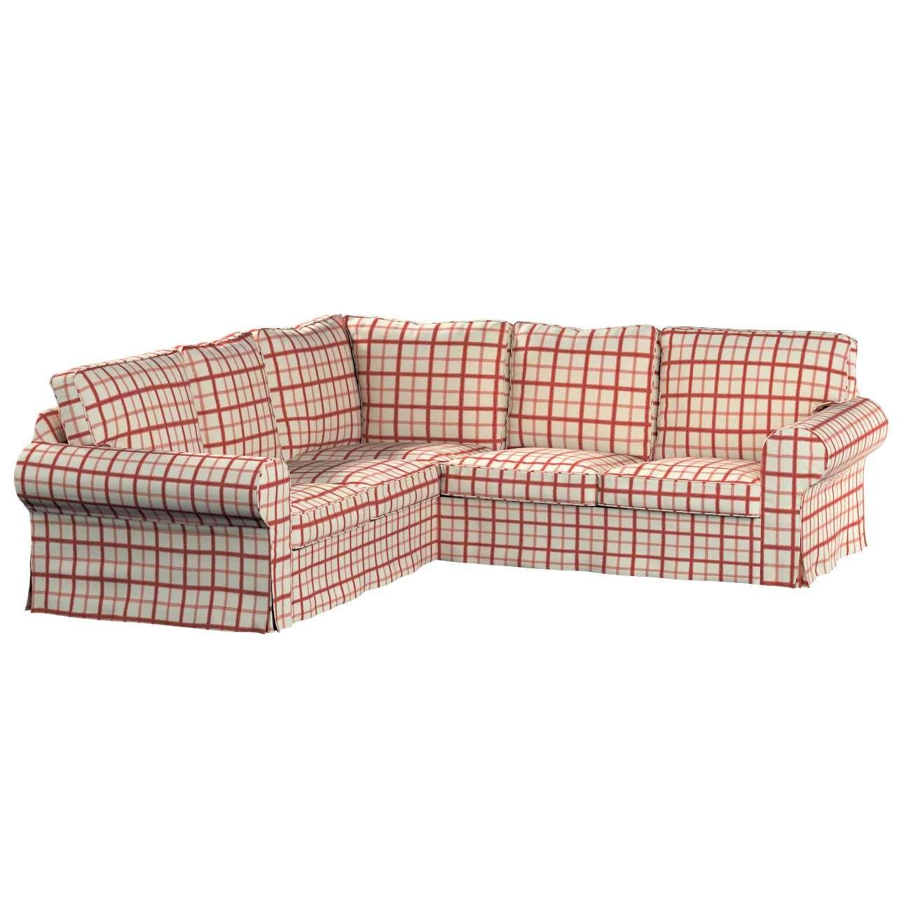 Pokrowiec na sofę Ektorp narożną Sofa Ektorp narożna w kolekcji Avinon, tkanina: 131-15