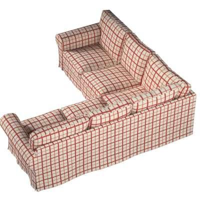 Pokrowiec na sofę narożną Ektorp w kolekcji Avinon, tkanina: 131-15
