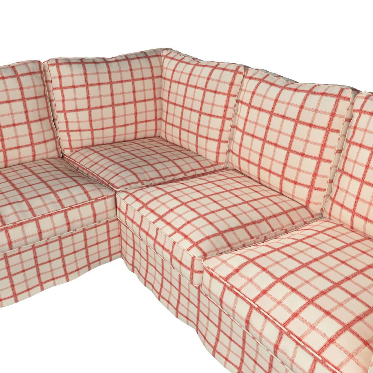 Pokrowiec Ektorp na sofę w kolekcji Avinon, tkanina: 131-15