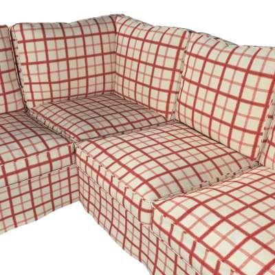 Pokrowiec Ektorp na sofę narożną w kolekcji Avinon, tkanina: 131-15