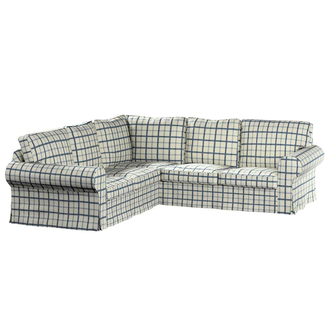 Pokrowiec Ektorp na sofę Sofa Ektorp narożna w kolekcji Avinon, tkanina: 131-66