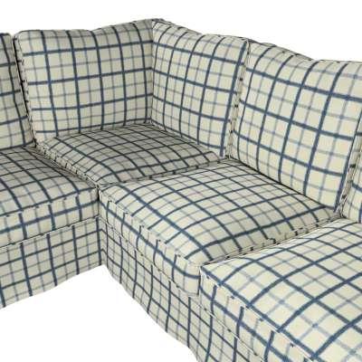 Pokrowiec na sofę narożną Ektorp w kolekcji Avinon, tkanina: 131-66