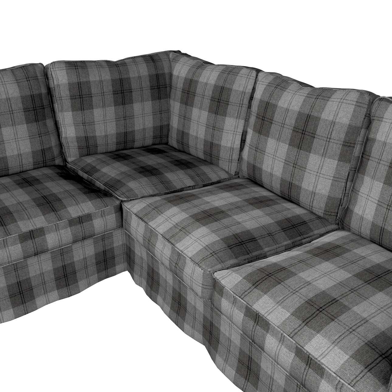 Pokrowiec na sofę narożną Ektorp w kolekcji Edinburgh, tkanina: 115-75