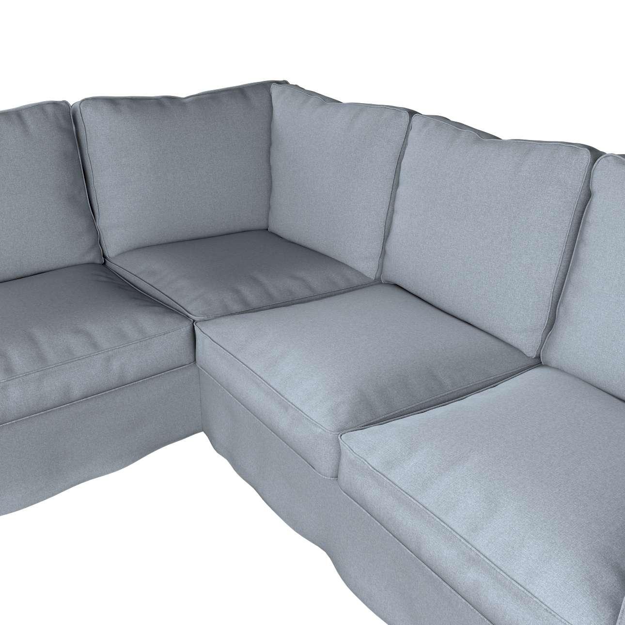 Pokrowiec na sofę narożną Ektorp w kolekcji Amsterdam, tkanina: 704-46