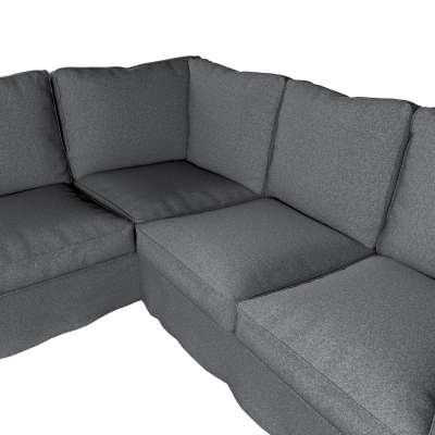 Pokrowiec Ektorp na sofę narożną w kolekcji Amsterdam, tkanina: 704-47