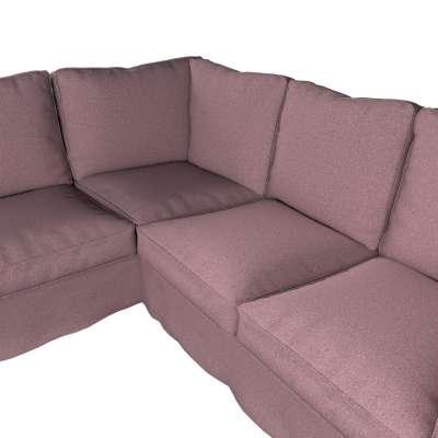 Pokrowiec na sofę narożną Ektorp w kolekcji Amsterdam, tkanina: 704-48