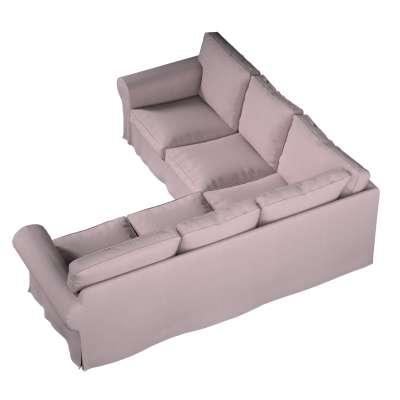 Pokrowiec na sofę narożną Ektorp w kolekcji Amsterdam, tkanina: 704-51