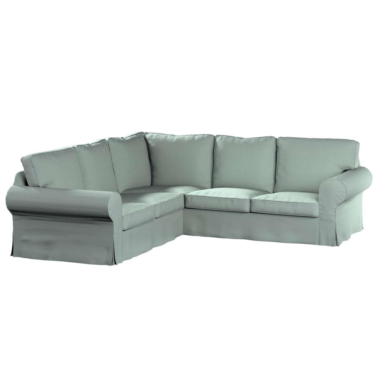Pokrowiec Ektorp na sofę narożną w kolekcji Living, tkanina: 160-86