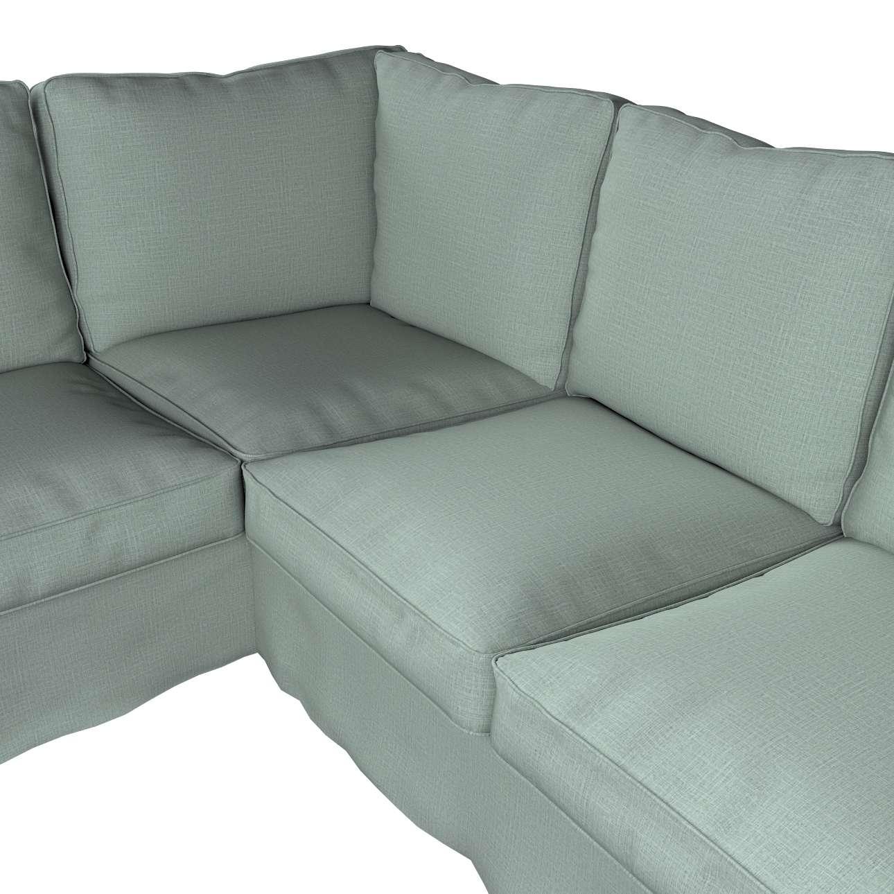 Pokrowiec na sofę narożną Ektorp w kolekcji Living II, tkanina: 160-86
