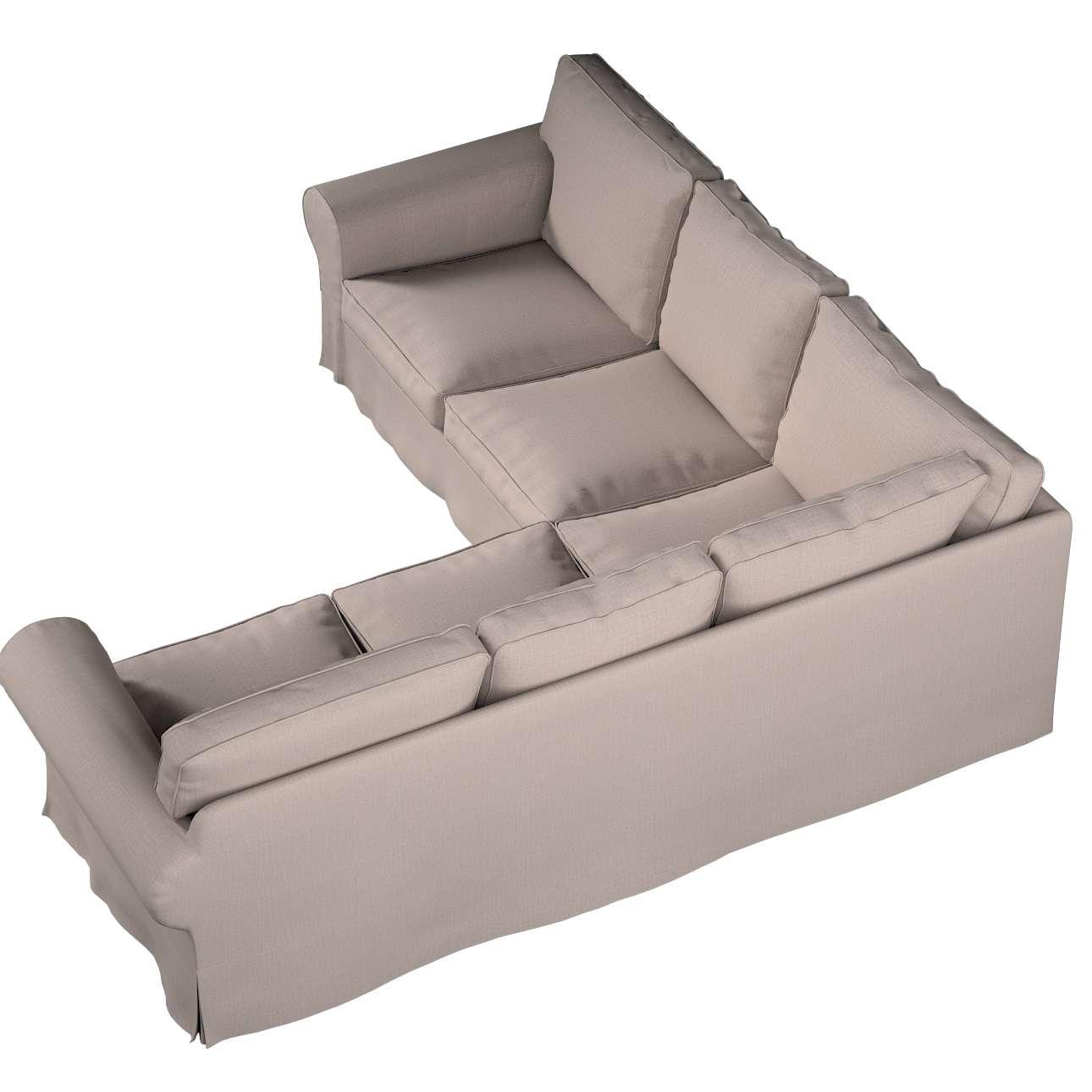 Pokrowiec na sofę narożną Ektorp w kolekcji Living II, tkanina: 160-85